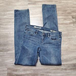 MADEWELL Rail Straight Jeans